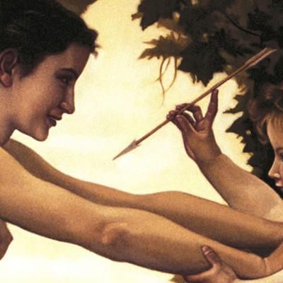 Detalle de Joven defendiéndose del amor